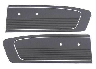 DOOR TRIMS STANDARD 1966 BLACK