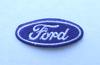 PATCH - FORD OVAL  50mm