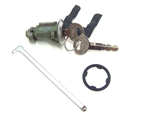 BOOT LOCK CYLINDER & FORD KEY 1967-1973 XW-XB