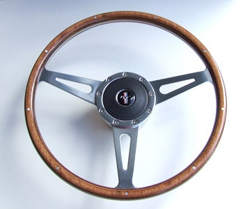 "STEERING WHEEL COBRA STYLE 15"" 1965-1966"