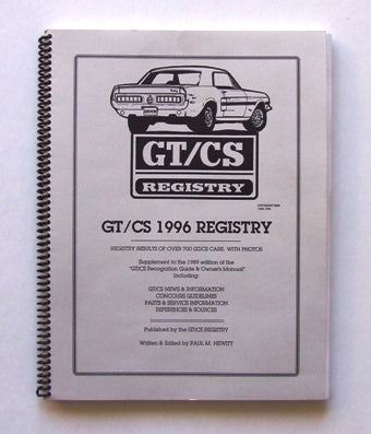 CALIFORNIA SPECIAL REGISTRY