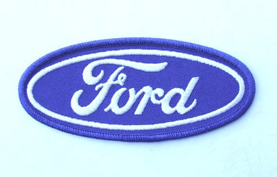 PATCH - FORD OVAL 110mm