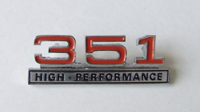 CONSOLE BADGE 351 HIGH PERFORMANCE