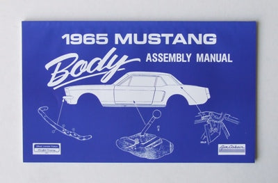 BODY ASSEMBLY MANUAL 1965