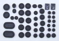 FULL RUBBER PLUG KIT 1969-1970