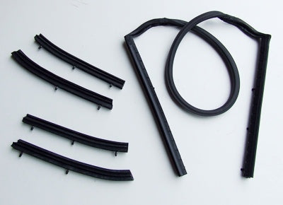 CONVERTIBLE TOP RUBBER KIT 1965-1968  5 PIECE KIT