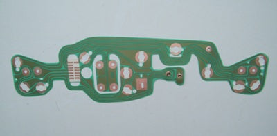 PRINTED INSTRUMENT CIRCUIT BOARD 1969-1970 WITHOUT TACHO