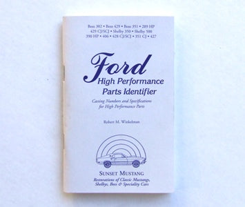FORD HIGH PERFORMANCE PARTS IDENTIFIER