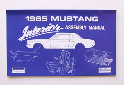 INTERIOR ASSEMBLY MANUAL 1965