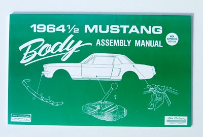 BODY ASSEMBLY  MANUAL 1964