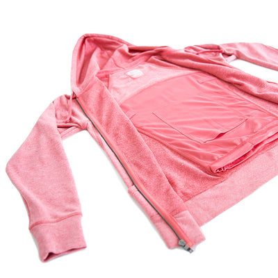 Kids' Full-Zip Hero Hoodie (Heather Pink)