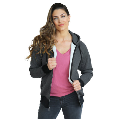 Hero Hoodie Heavy (Heather Charcoal)