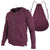 Full-Zip Hero Hoodie (Heather Burgundy)