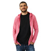 Full-Zip Hero Hoodie (Heather Pink)