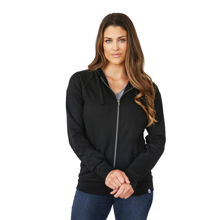 Full-Zip Hero Hoodie (Black)