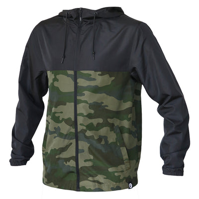 Dryflip Windbreaker (Black/Camo)