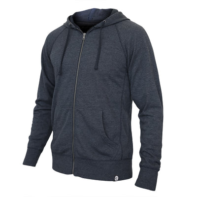 Heather Navy Hero Hoodie