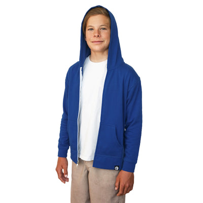 Kids' Hero Hoodie Lite (Royal Blue)