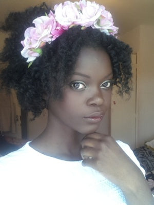 AFROS IN BLOOM: HOW TO ROCK HAIR FLOWERS THIS SPRING