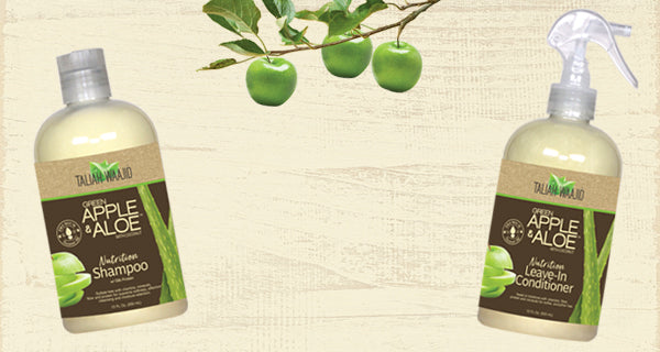Green Apple & Aloe Collection for Natural Curly Hair Styles