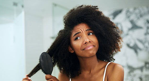 Struggle with dry brittle hair picture