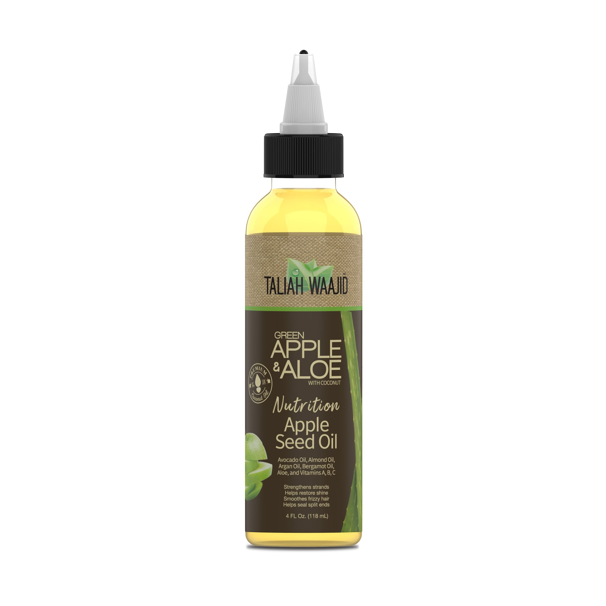Green Apple & Aloe Nutrition Apple Seed Oil 4oz