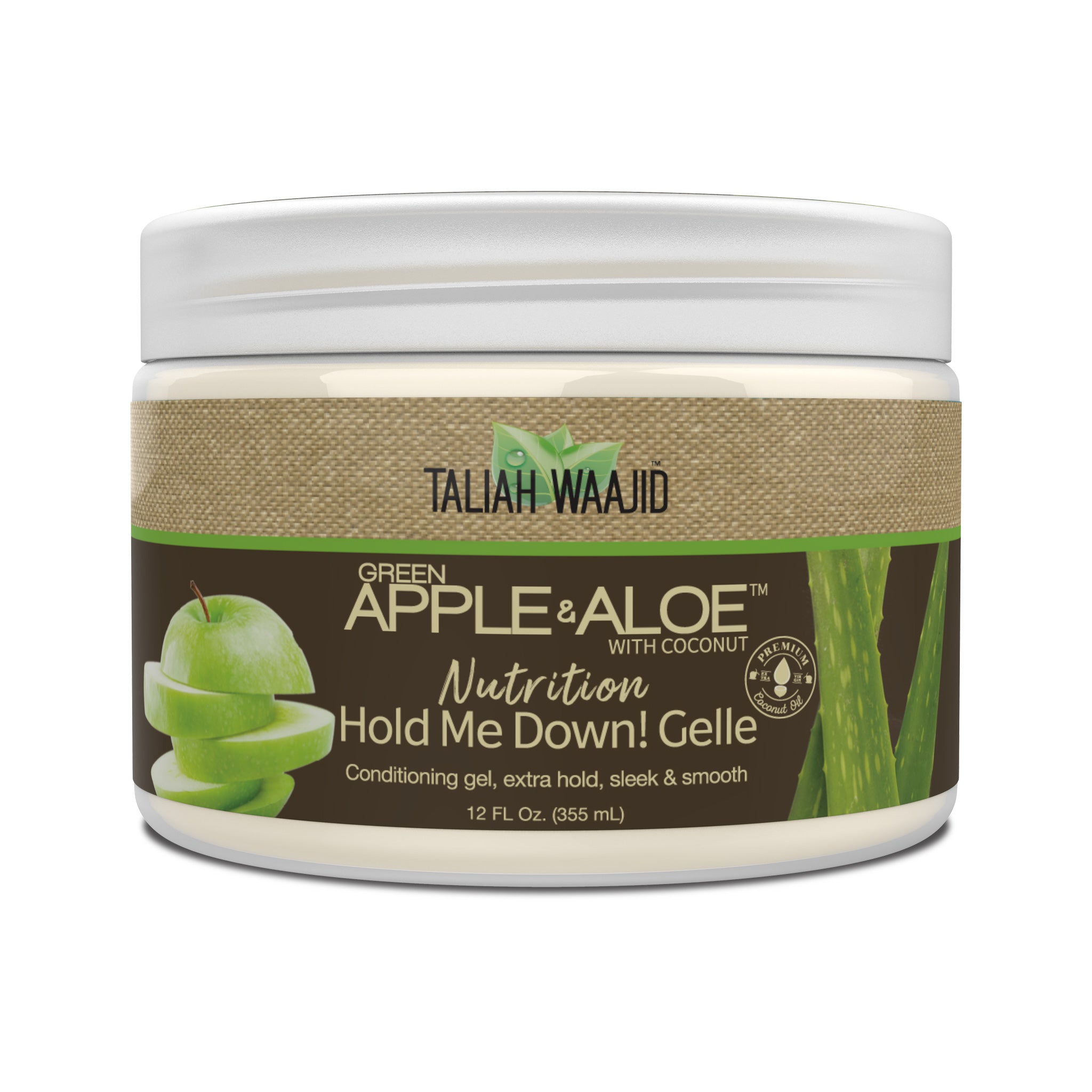 Green Apple & Aloe Nutrition Hold Me Down! Gelle 12oz