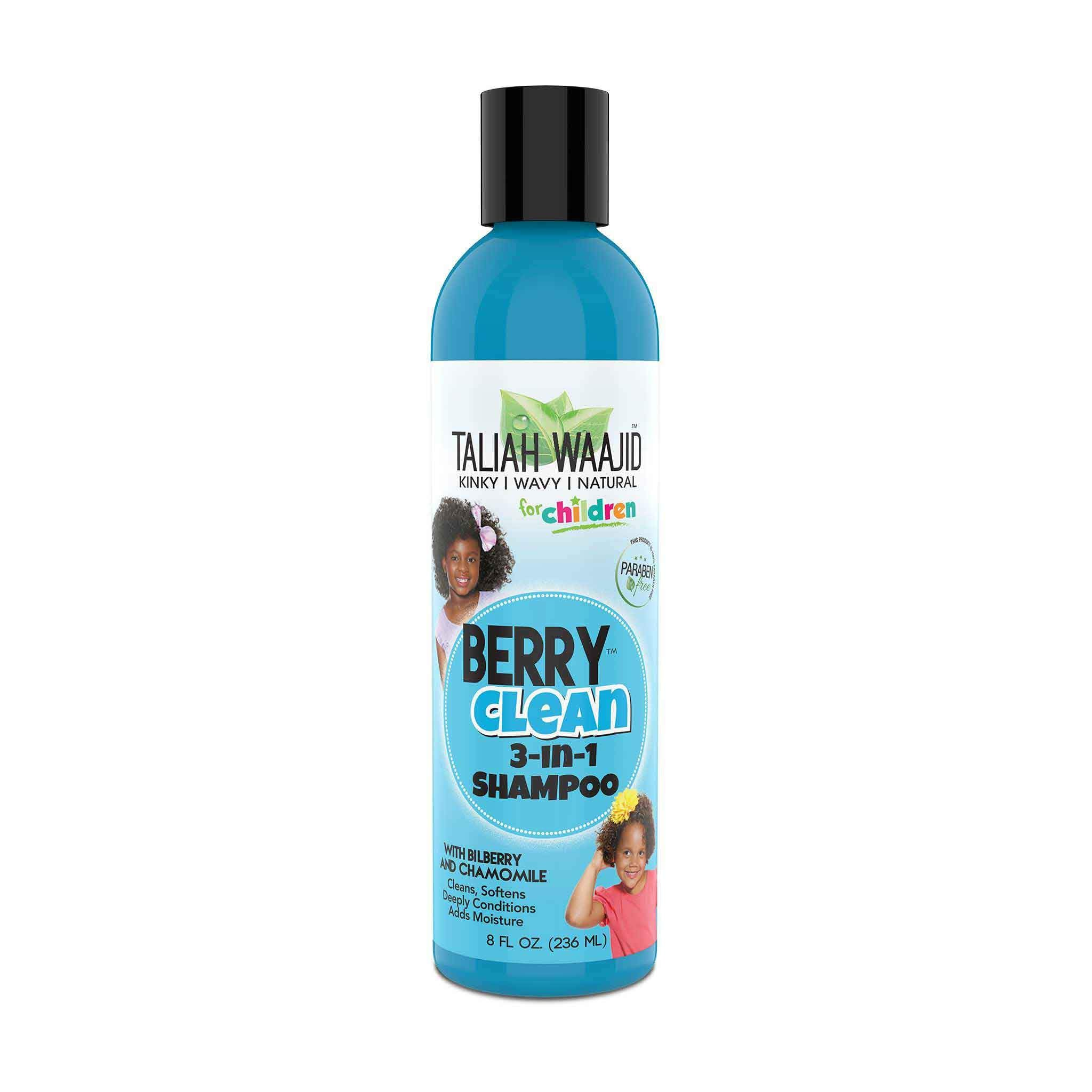 Kinky, Wavy, Natural Berry Clean Three-In-One 8oz