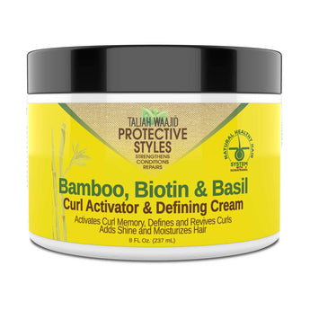 Protective Styles Bamboo, Biotin & Basil Curl Activator & Defining Cream 8oz