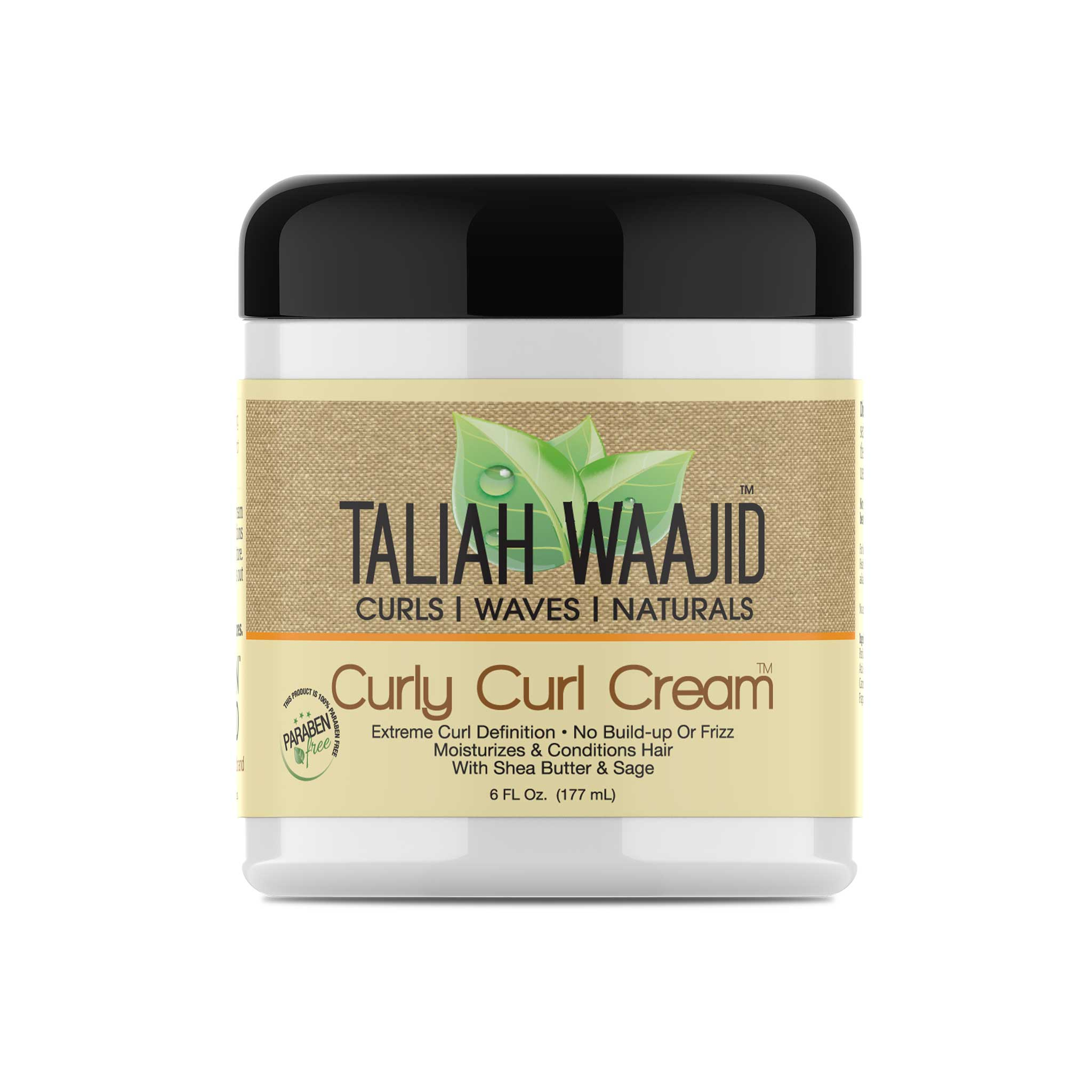 Curls, Waves & Naturals Curly Curl Cream 6oz