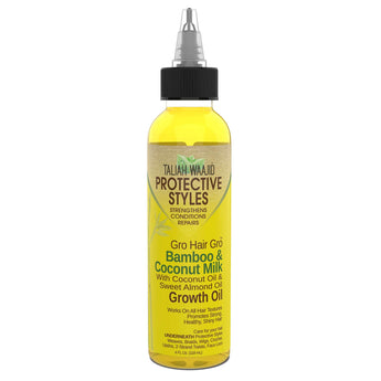 Gro Hair Gro™ Bamboo And Coconut Milk Growth Oil 4oz