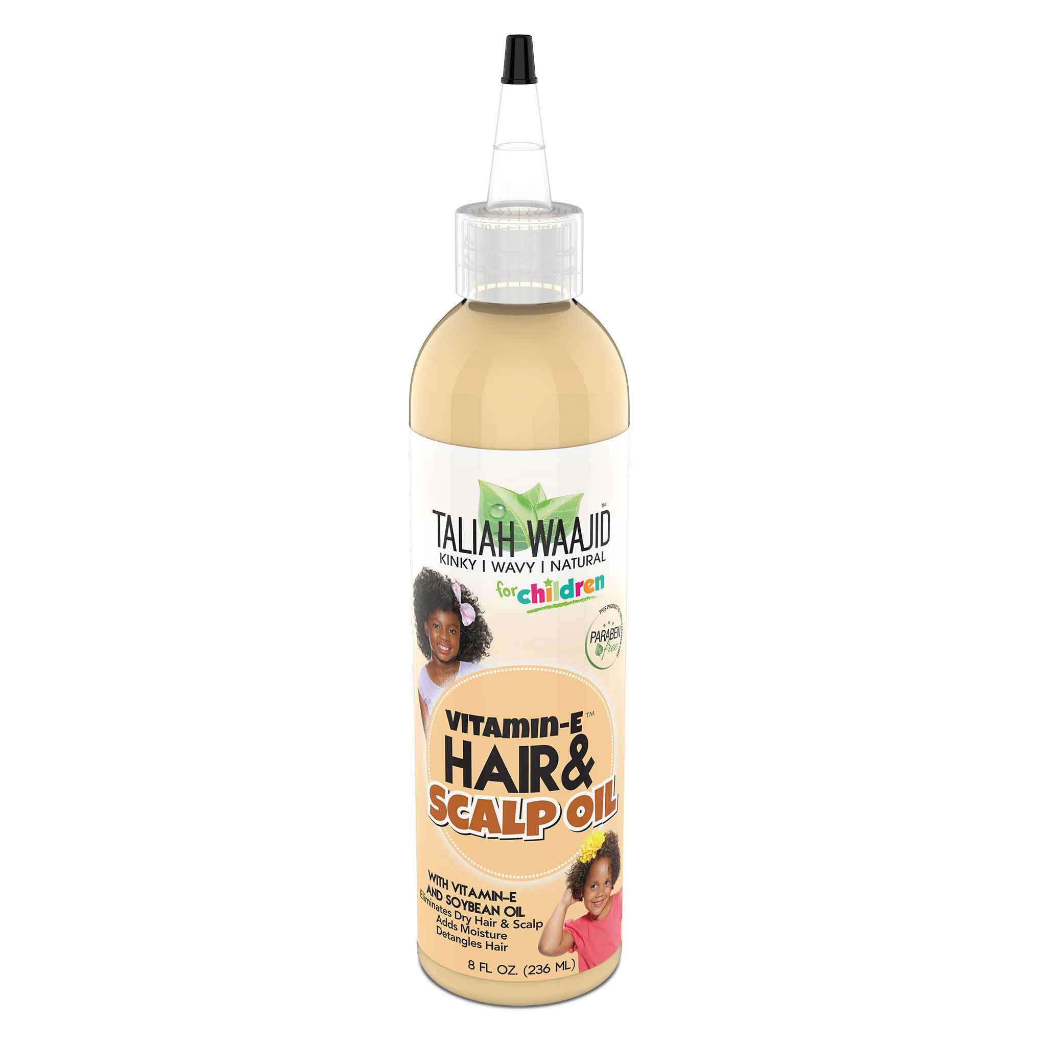 Kinky, Wavy, Natural Hair & Scalp Oil With Vitamin-E 8oz