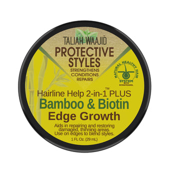 Hairline Help 2-in-1 Plus™ Bamboo and Biotin Edge Grow