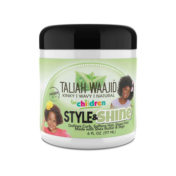 Kinky, Wavy, Natural Herbal Style & Shine for Natural Hair 6oz