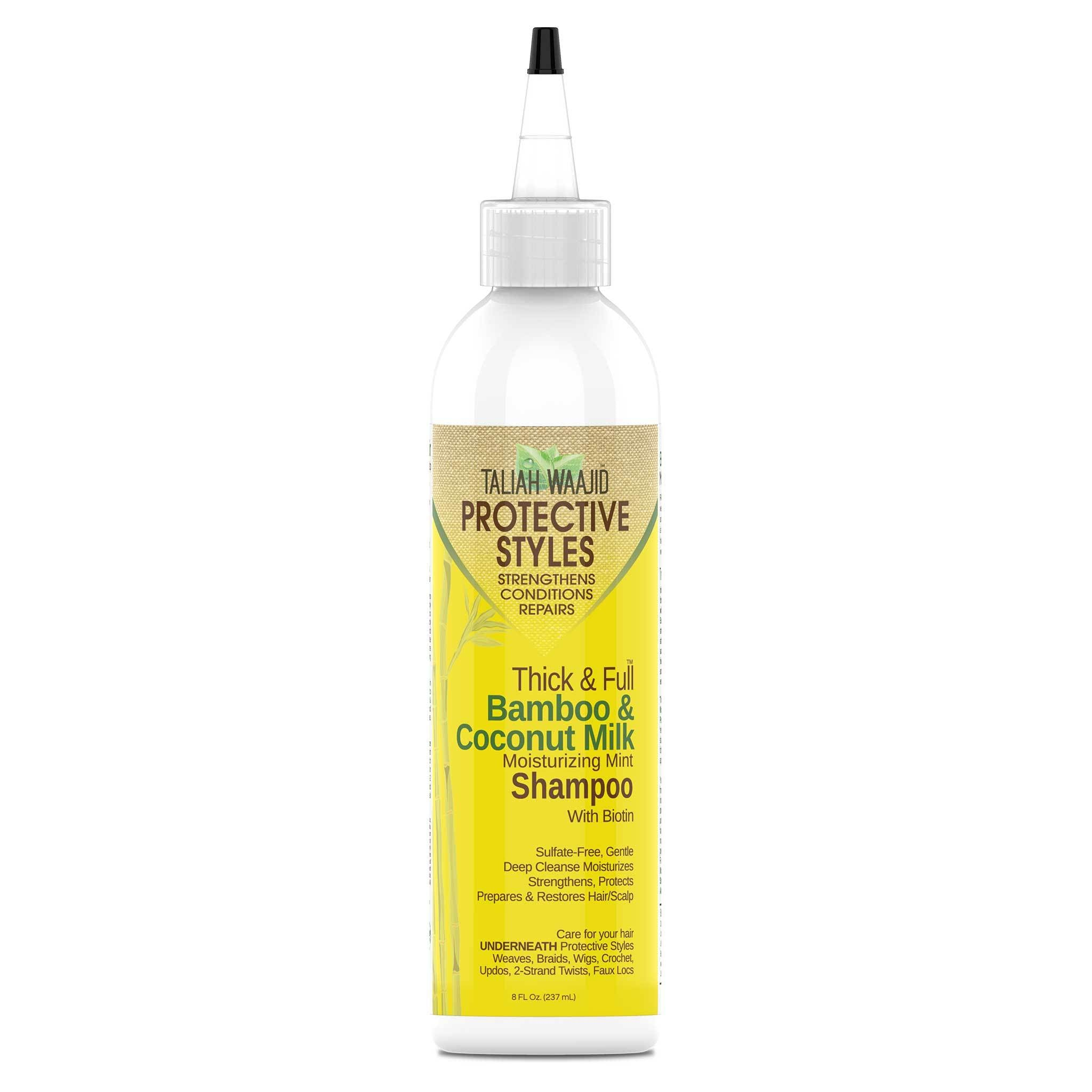 Thick And Full™ Bamboo And Coconut Milk Moisturizing Mint Shampoo 8oz