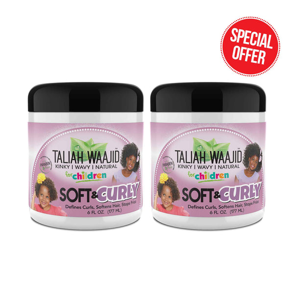Soft & Curly 2 Pack (FOR CHILDREN)