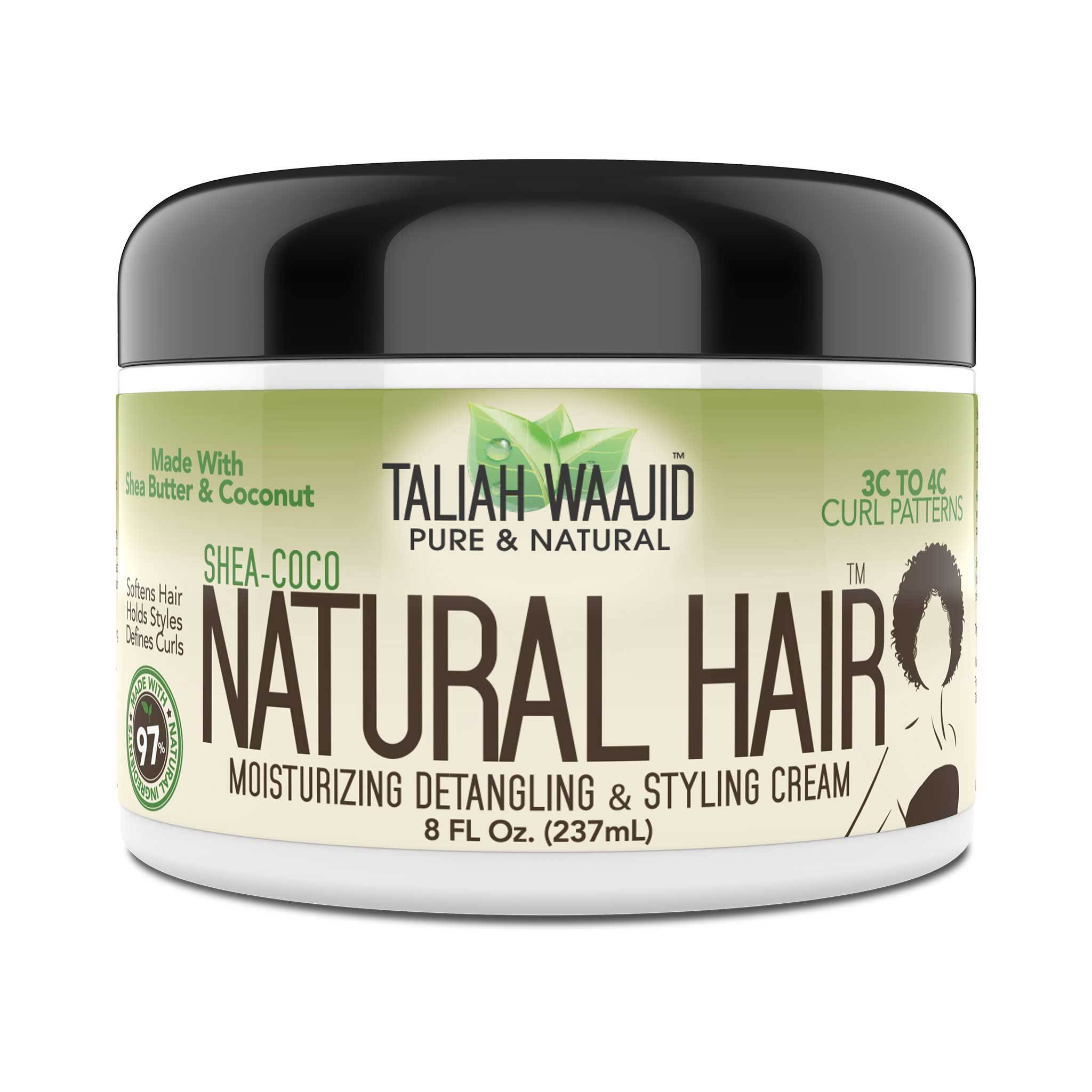 Shea Coco Natural Hair Style Cream 8oz For 3c 4c Hair Taliah Waajid Taliah Waajid Brand