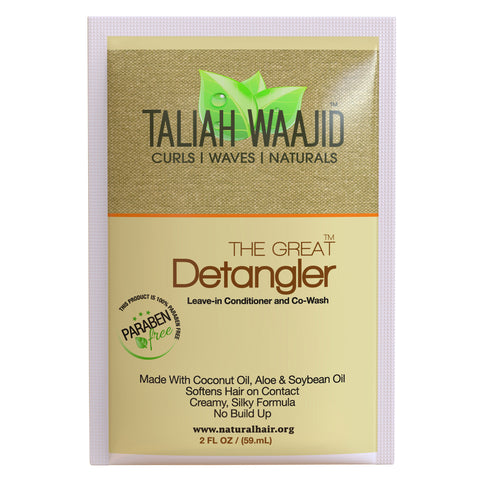 The Great Detangler 2oz (5) Pack Travel Size Packettes