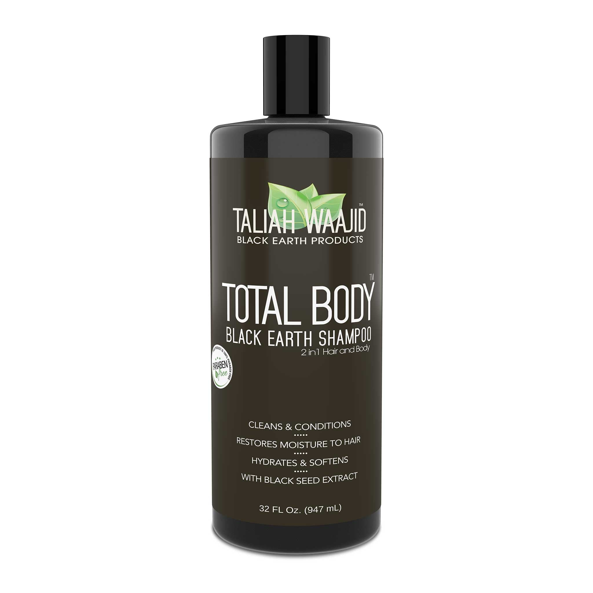 Total Body Black Earth Shampoo 32oz