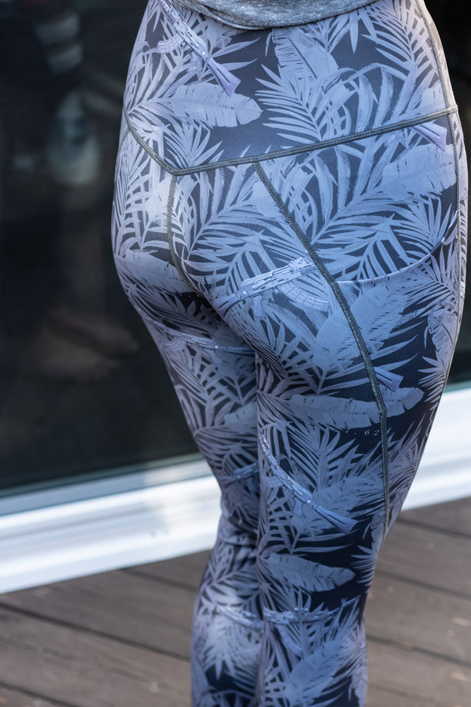 Miami AK Night OP Leggings (FREE MATCHING MASK) ***PRE ORDER ITEM***