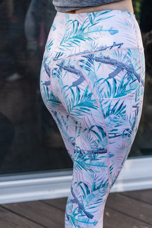 Miami AK Leggings (FREE MATCHING MASK)