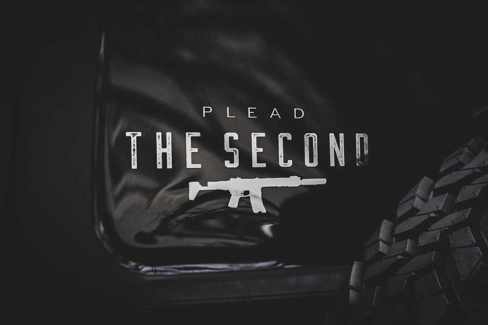 Plead The 2nd DECAL
