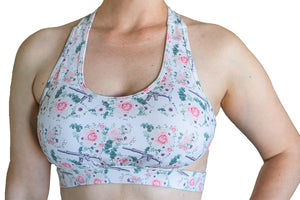 FLORAL AR LEGGING SHORTS (Sport Bra Sold Separate)