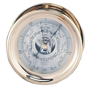 "4.5"" Captain Barometer with Lacquer Coating"