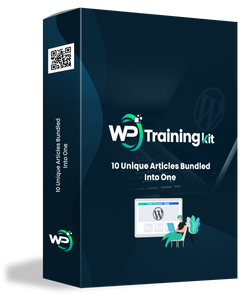 WP Training Kit, mega course How to Use WordPress digital