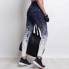 Yoga Pants Women Sports  Style Printed Fitness Pants Compression Tights - Model - CK051