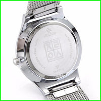 Women Watch Ultra Thin Stainless Steel Band Analog Display Quartz Top Brand Julius Luxury
