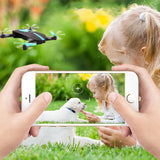 Mini Helicopter Selfie Drone RC with 200MP Camera HD WIFI  720P RC Gadgets Model Number : JY018