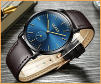 women & Men watch, high quality luxury watches, Quartz Movement, Luxury leather band. Olevs brand