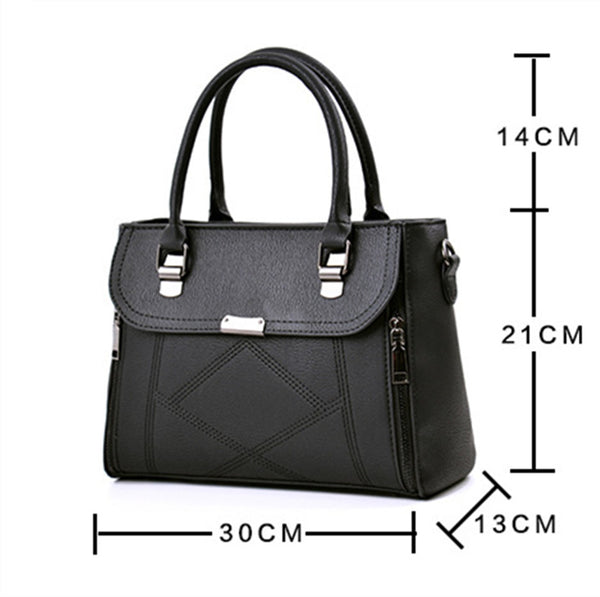 Women Bags Fashion Brand Handbags Lining Material Polyester Shoulder Bag.